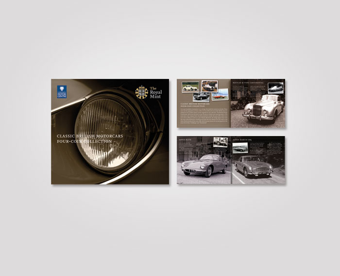 Royal-Mint-Classic-Cars-booklet